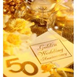 Сценарий золотой свадьбы в домашних