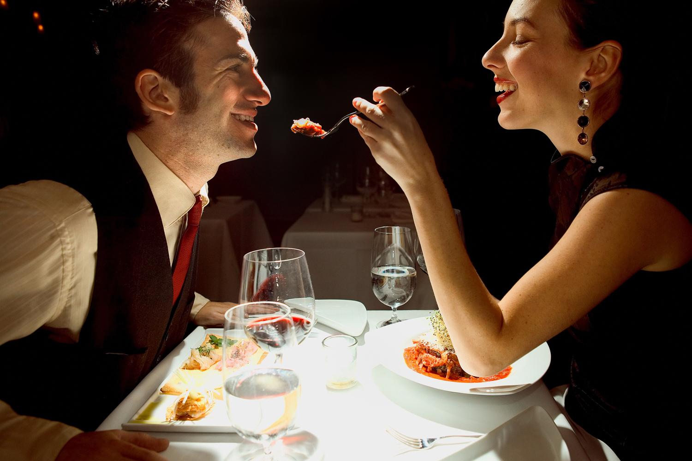 Сексуальный ужин для мужа