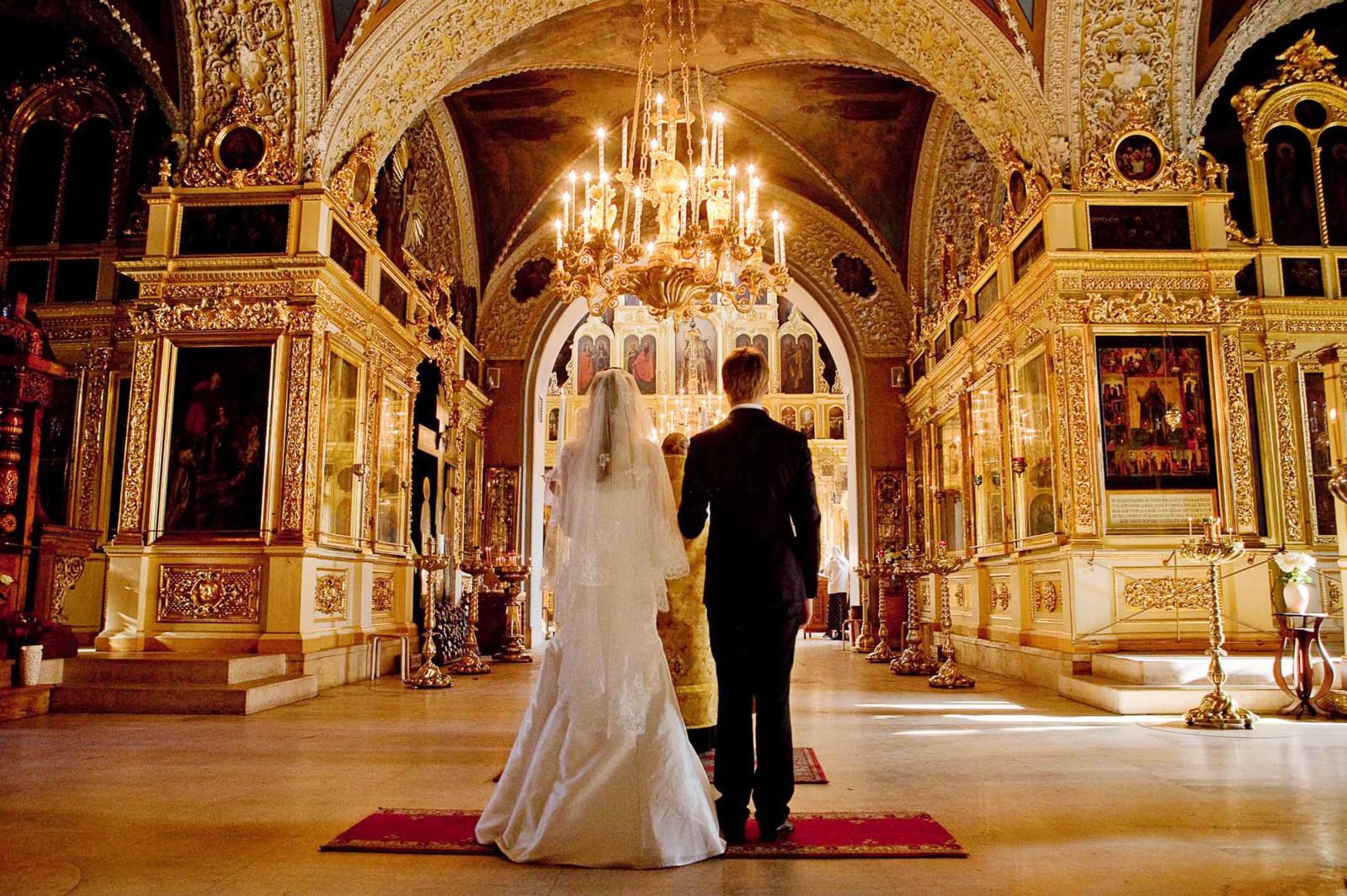 Как венчаться в церкви до свадьбы
