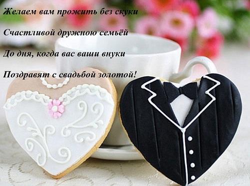 Пожелания на годовщину свадьбы своими словами