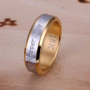 Forever-Endless-Love-18K-font-b-Golden-b-font-Gold-Plated-Wedding-Bride-and-Groom-Couple